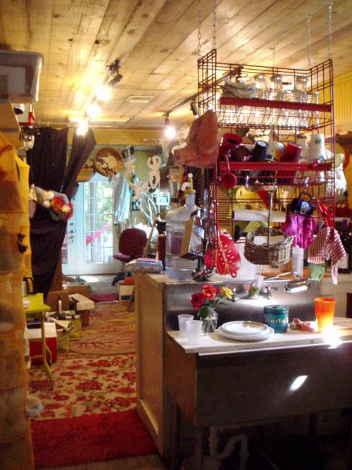 Tom's, kitchen and workshop